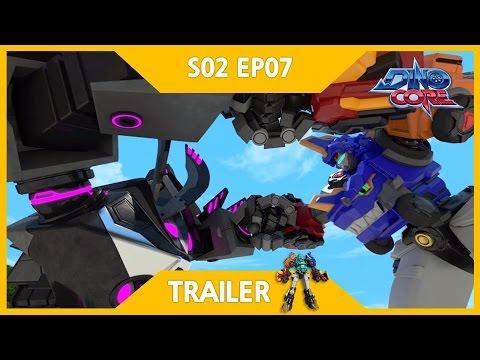 [DinoCore] Trailer | Akan vs. Bicycle | Robot Dinosaur Korean Animation | Season 2 EP07