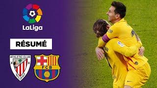 Résumé : Messi porte le Barça à Bilbao
