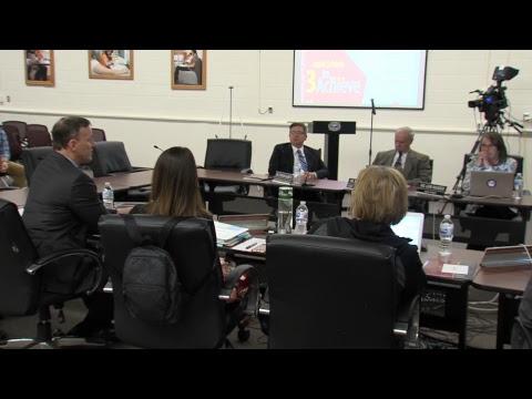 Joplin Schools Board of Education Meeting 04-17-18