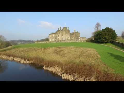 Ripley Castle near Harrogate, North Yorkshire