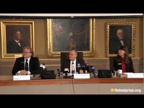 The 2012 Nobel Prize in Chemistry: Announcement and press conference