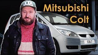 Mitsubishi Colt.  Лучший автомобиль для города.  Тест драйв б/у авто