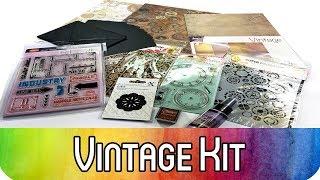 Karten-Kit Februar: Industrial Vintage und Steampunk