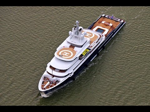Explorer Yacht LUNA Leaves For Norway, 107m Superyacht ULYSSES & much more