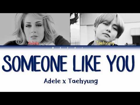 Taehyung (BTS) & Adele - Someone Like you [MASHUP] | Color Coded Lyrics | English