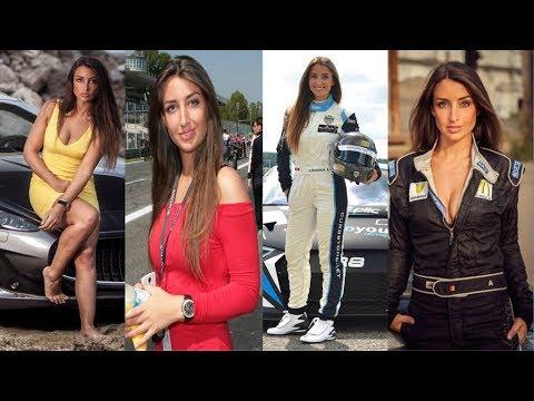Stoffel Vandoorne's Girlfriend Angelique Detavernier 2018 (Belgium Racing Driver)