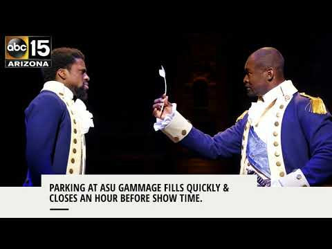 """What you need to know before seeing """"Hamilton"""" at ASU Gammage - ABC15 Things To Do"""