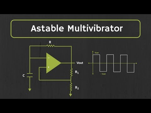 Astable Multivibrator (using op-amp) Explained