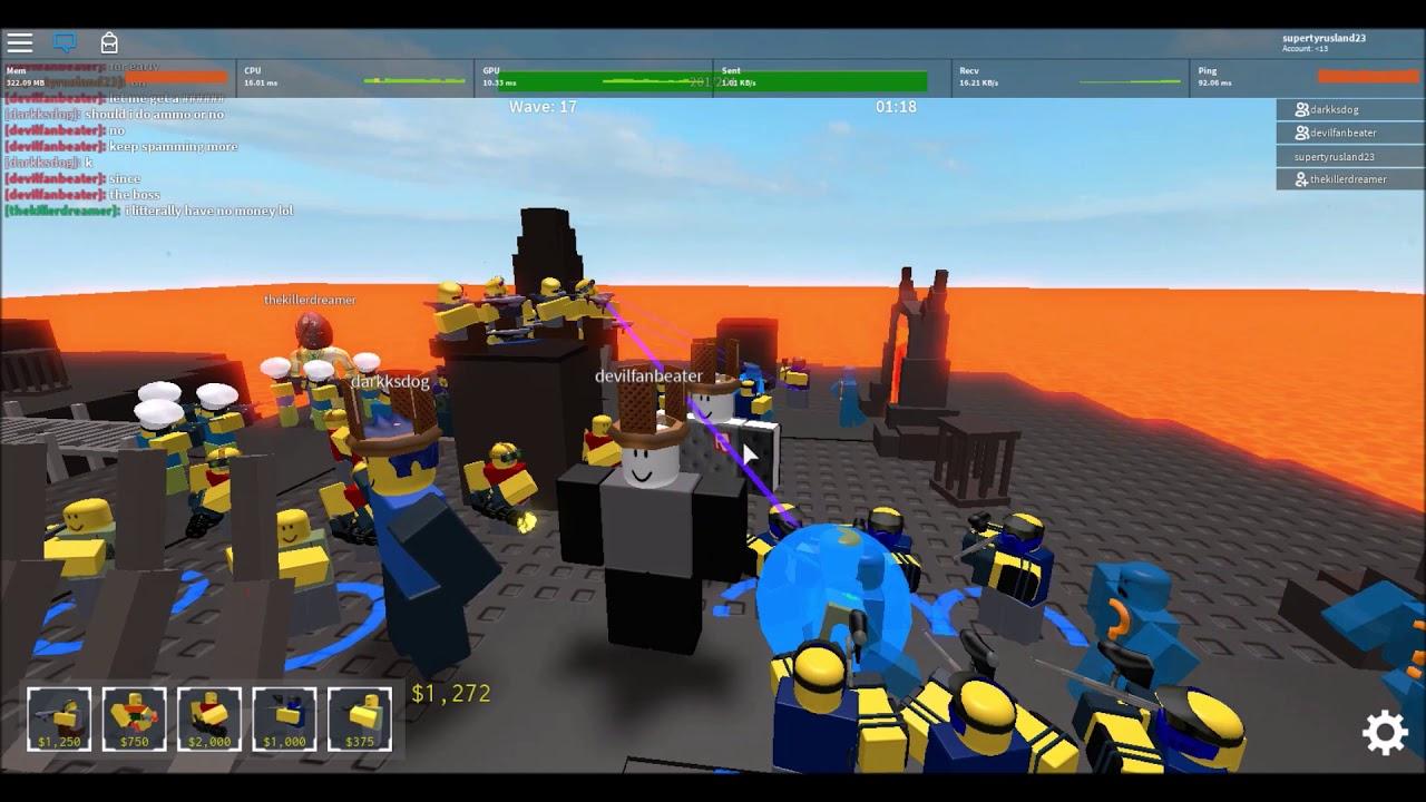 Roblox Tower Defense Simulator Beta Infernal Abyss - YouTube