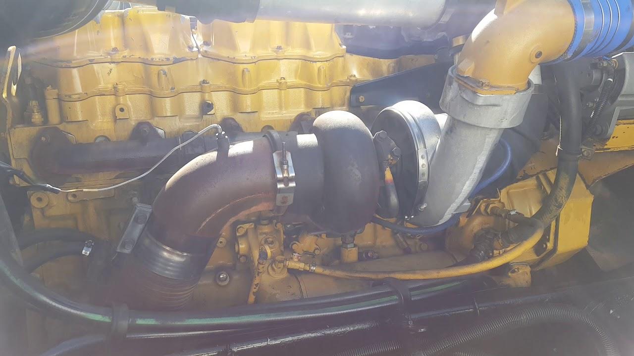 1998 Peterbilt 379 Cat 3406e Running