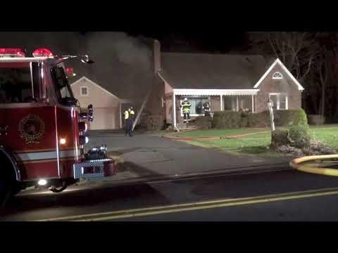 Milford  twp Old Bethlehem pike house fire