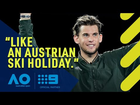 How Neil Diamond Put Thiem In Australian Open Final | Wide World Of Sports