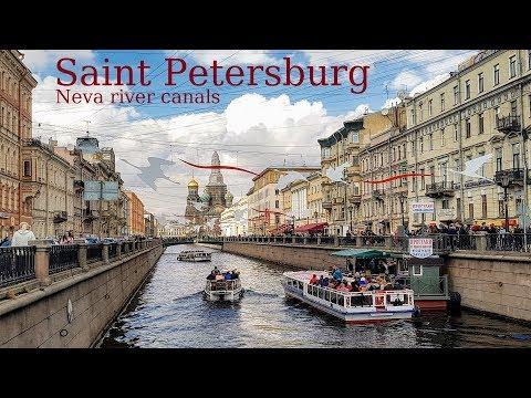 Искусственные каналы Петербурга - полный список