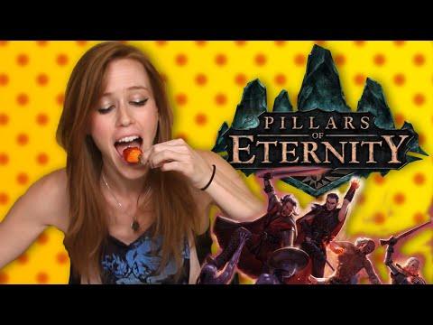 Pillars of Eternity - Hot Pepper Game Review ft. Marisha Ray