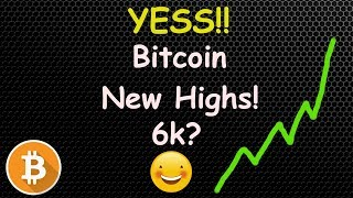 Bottom Time? Bitcoin Making New Highs! 🔴 LIVE CRYPTO NEWS