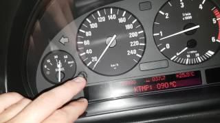 Tuto menu caché  OBD BMW série 5 e39