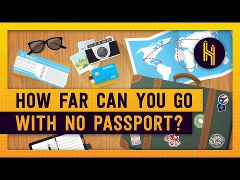 What's The Furthest You Could Travel Without A Passport?