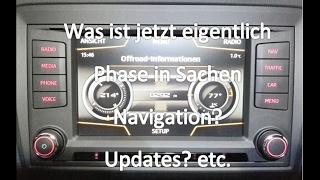 Seat Ibiza Cupra 6P - Was ist jetzt eigentlich Phase in Sachen Navi? | Updates? etc.