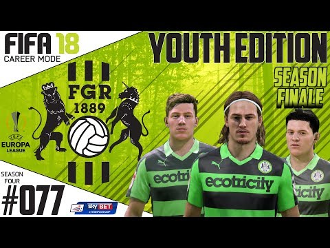 Fifa 18 Career Mode  - Youth Edition - Forest Green Rovers - EP 77
