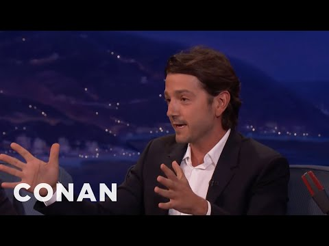 Diego Luna On Mariachi Bands That Overstay Their Welcome  - CONAN on TBS