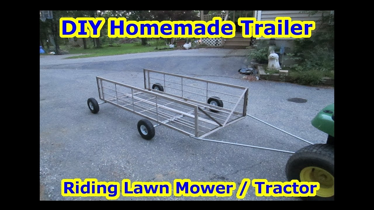 DIY Homemade - Riding Lawn Mower