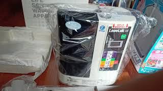 Máy lọc nước ion kiềm ( Kangen ) Leveluk DX của Enagic Nhật bản. Mới 100% chưa sử dụng