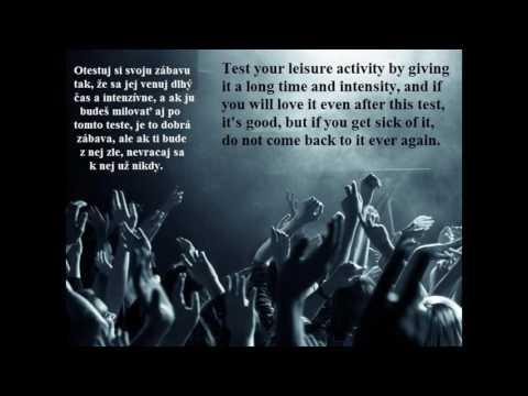 TEST YOUR LEISURE ACTIVITY - OTESTUJ SVOJU ZÁBAVU (MEDITATIVE MUSIC)