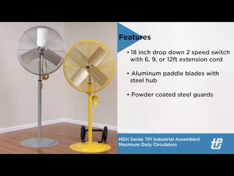 TPI Corporation - Electric Heat | Industrial Fans & Lights
