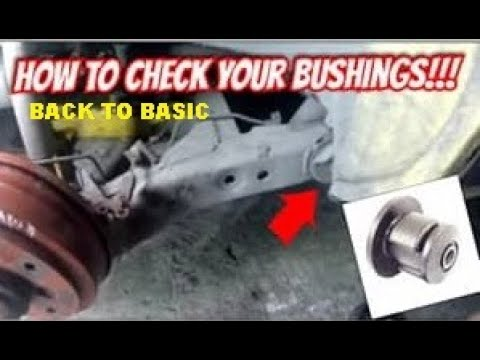 How To Check Bushings If Worn(Kia Pride)