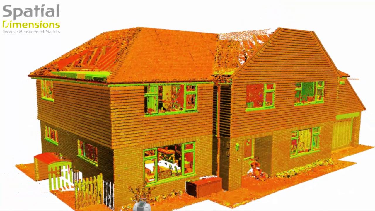 From a point cloud survey to a 3D Revit model