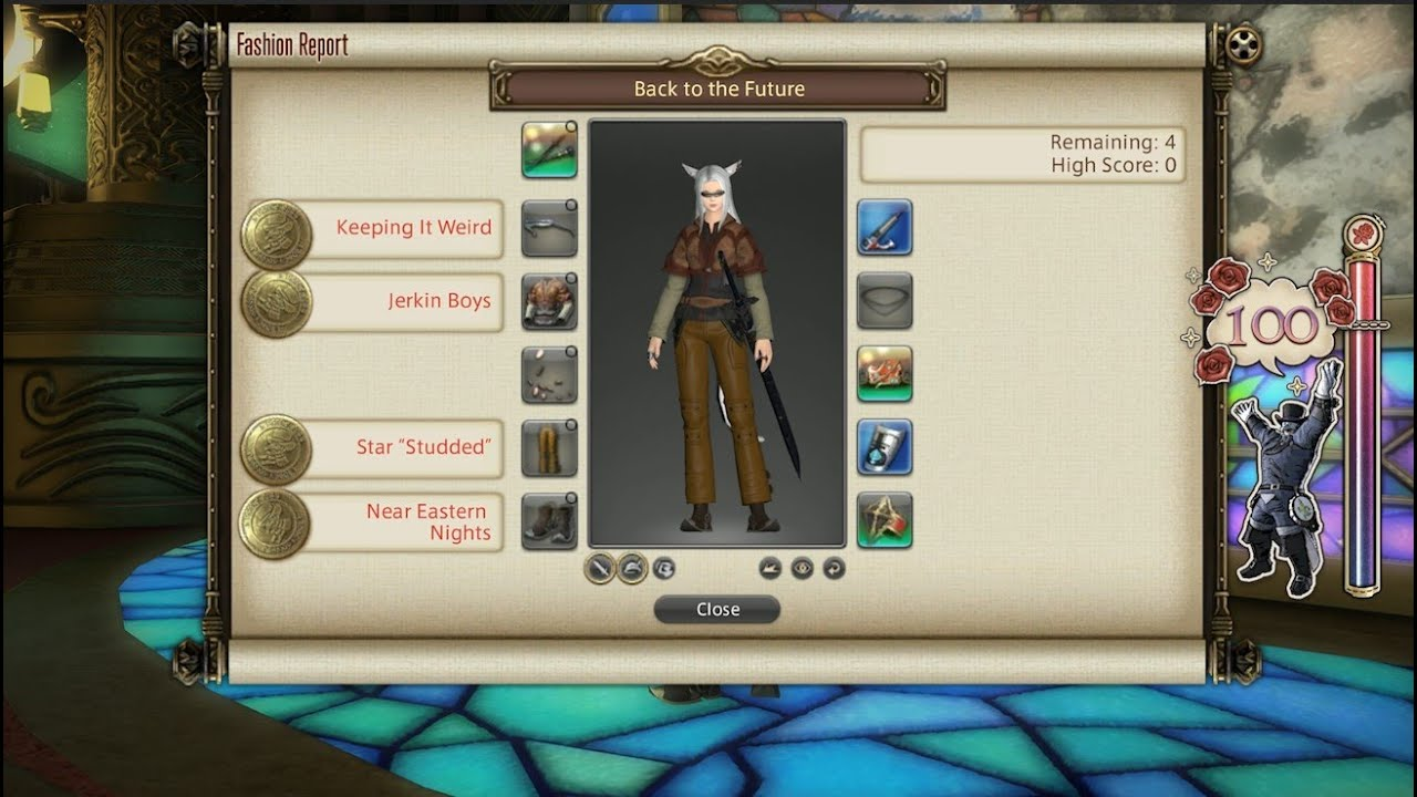 FFXIV: Fashion Report Friday - Week 77 - Theme : Back To The Future