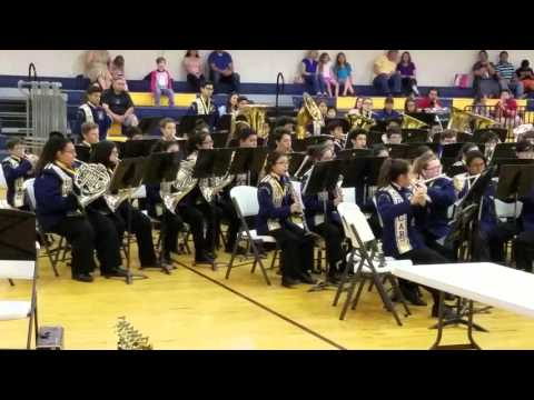 Los Cuates middle school honor band - Hunger games