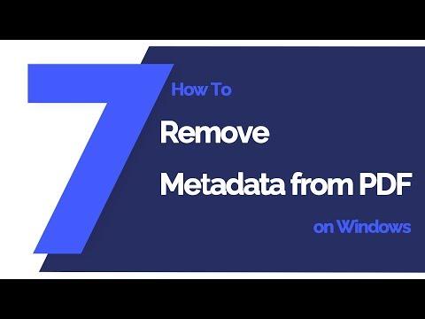 Get the Best PDF Metadata Viewer to View Metadata in PDF