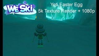 (HD) We Ski Yeti Easter Egg (5k Textures + 1080p)