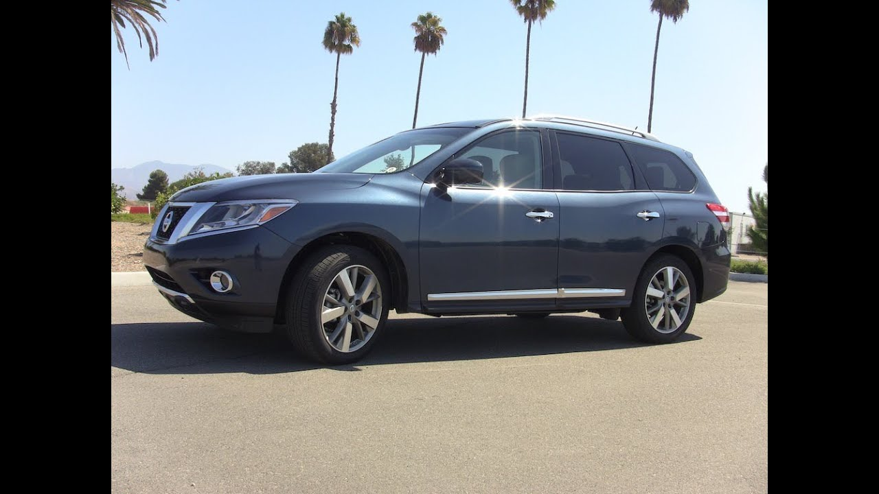 2014 Nissan Pathfinder Hybrid Quick Take First Drive Review Youtube