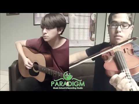 Pan's Labyrinth Lullaby  (Violin & Guitar Cover) , Paradigm Music School Students