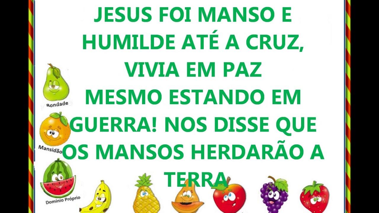 Suficiente MANSIDÃO (letra) fruto do Espirito - YouTube DS84