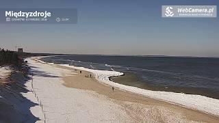 5 najpiękniejszych plaż zimą na webcamera.pl Międzyzdroje Łeba Rewal Świnoujscie Dziwnow