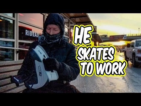 In This City You Can SKATE To Work (or School)!