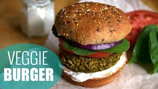 How To Make Veggie Burgers | Millet Veggie Burger Recipe