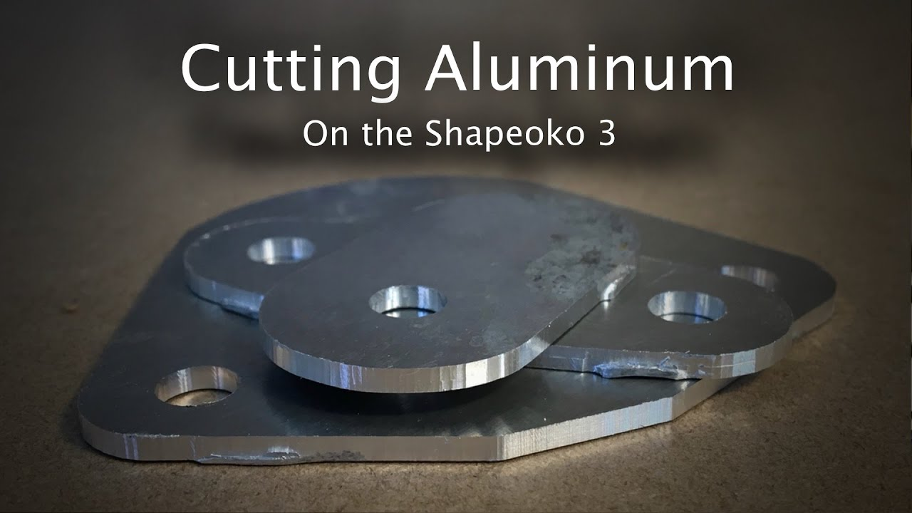 How Not To Cut Aluminum On The Shapeoko 3 Project 44