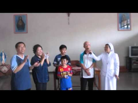 Ultah Pernikahan 2003-2016; Menyanyikan Lagu Ultah Bahasa Mandarin (1/2)