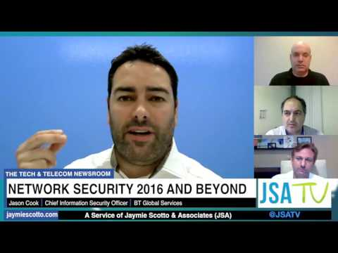 Network Security in 2016 & Beyond - A JSA TV Virtual Roundtable