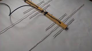 двухдиапазонная антенна 145 430 МГц для начинающего радиолюбителя своими руками