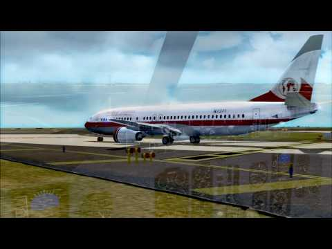 World Travel Airlines Say Goodbye Paris! **JerdooFlightX CONTEST #3**