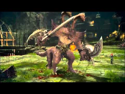 Видео E3 2010 Gameplay [HD] / TERA Online Game