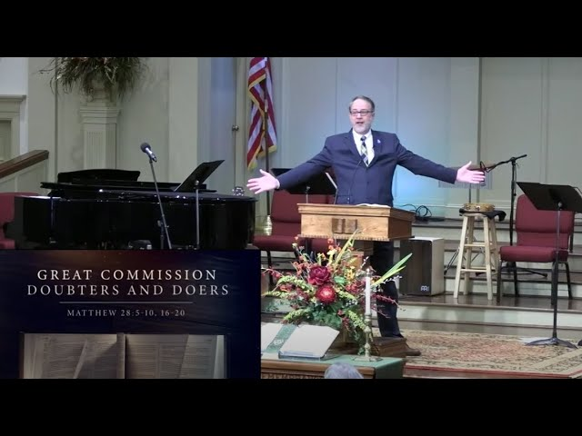 February 21, 2021 Service [Trimmed] at First Baptist Thomson, Streaming License 201531172