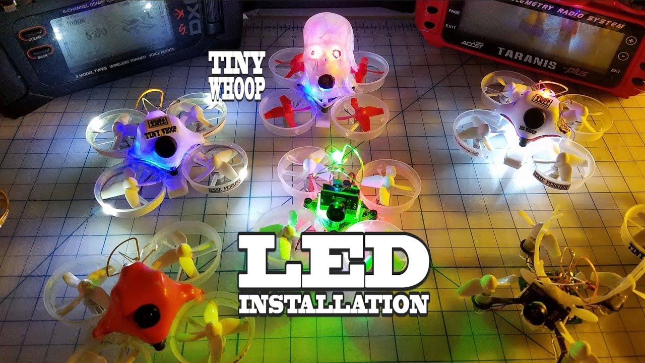 Tiny Whoop LED Installation