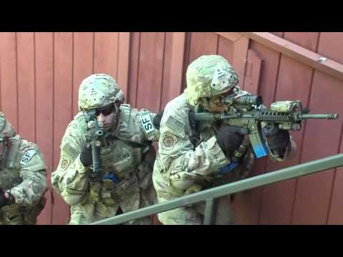 USAF 219th Security Forces MOUT Training
