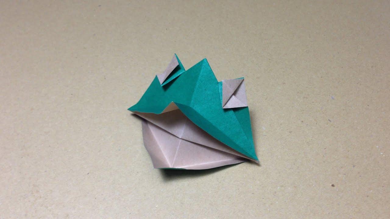 折り紙 ピストル の 作り方 簡単